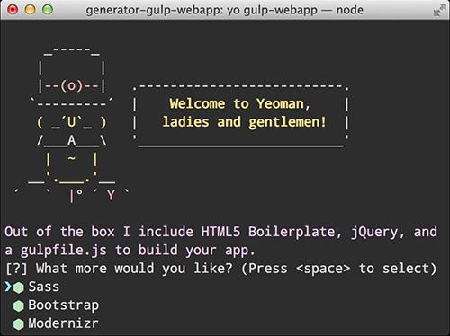 コマンド一発でBootstrap + Sass + gulpの環境が構築できるYeomanの「generator-gulp-webapp」