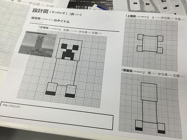 上手に活用すれば、かなり精巧なブロック加工が可能となるマイクラ設計図。