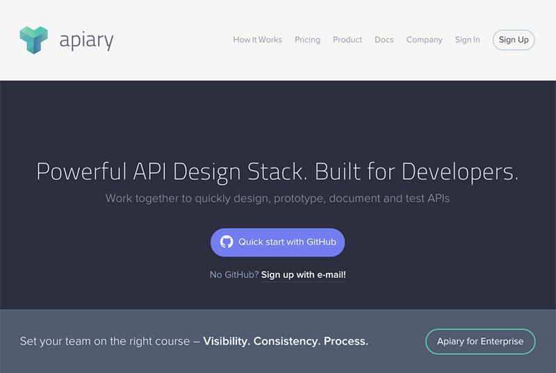 サーバーサイドエンジニアの実装を待つことなく、APIの仕様書作成と動作テストが行える「Apiary」