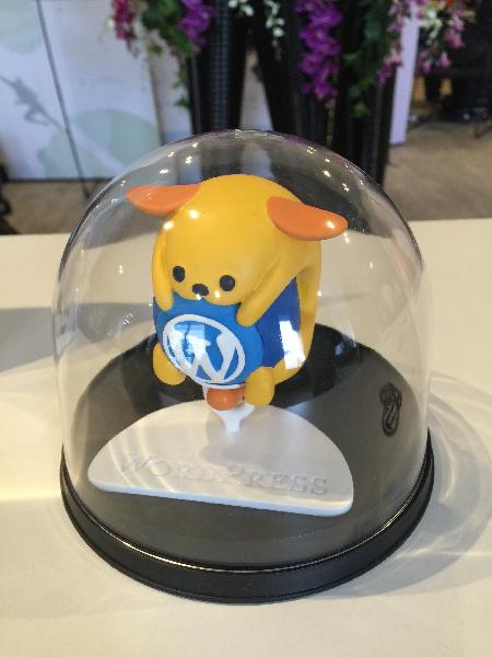 Word Camp Kansai 2016に続いて会場に展示されていた「3Dわぷー」。